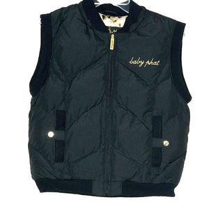 Authentic Baby Phat Vintage Puffer Vest